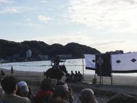 11/18 逗子銀座通りに武者行列が!逗子海岸で流鏑馬が開催