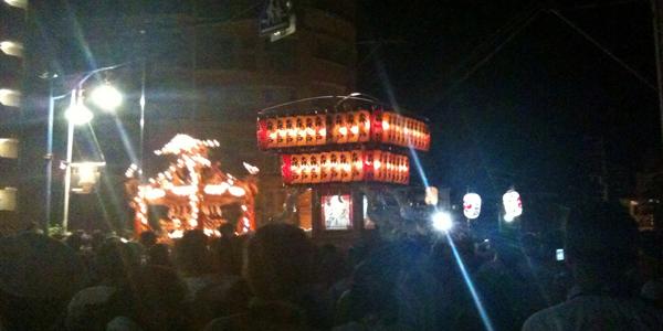 2014年(平成26年)葉山:森戸神社/森山神社例大祭開催日程