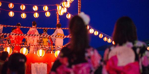 2015(平成27年度)森戸の浜の盆踊り大会